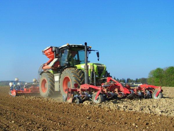 Semi de maïs 2010 !