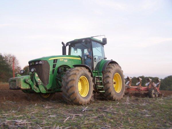 Labour et semis de blé 2010 !
