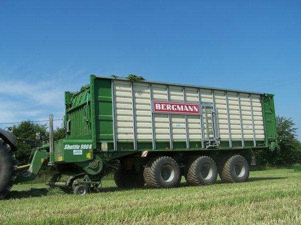 Ensilage de céréales immatures 2010.
