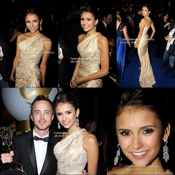 29 Août 2010 - Nina s'est rendue à la 62 ème cérémonie des Emmy Awards.        Nina nous fait un énorme TOP ! Elle est resplendissante !