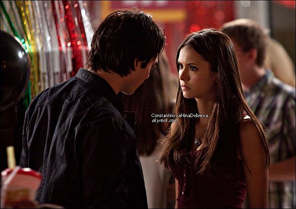 """Découvrez deux nouveaux stills (avec Nina) de l'épisode 2×02 """" Brave New World """" de la deuxième saison de TVD ."""