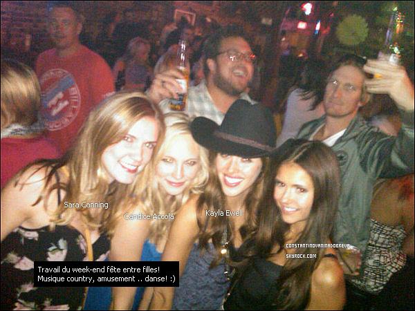 5 septembre 2010 - Nina a posté deux  nouvelles photos sur son compte Twitter avec des messages.