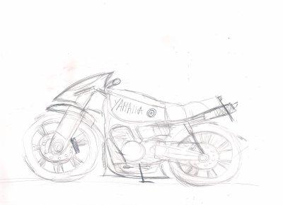 dessin moto
