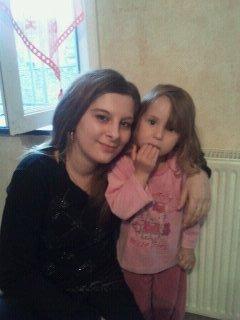 moi et ma petite nièce kaylia