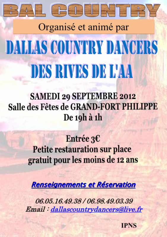 Bal CD du 29 sept 2012