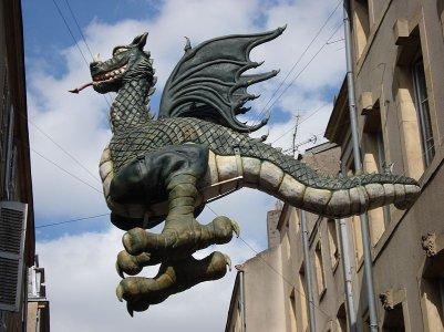 le dragon de chez moi : le graoully