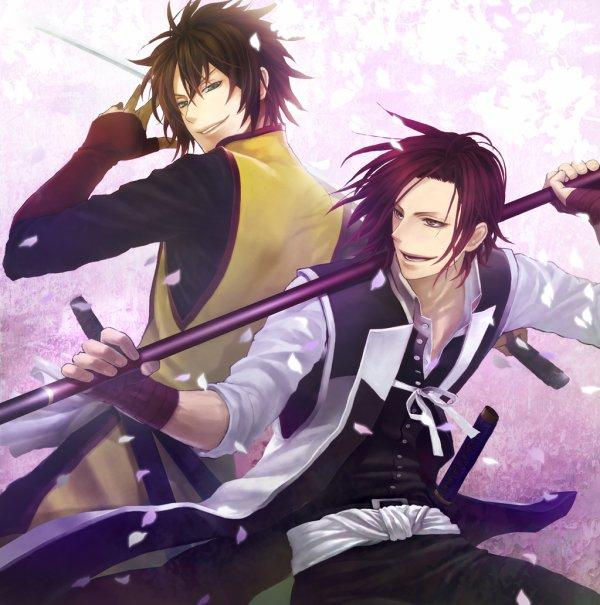 Les deux beaux gosses du Shinsengumi ^^