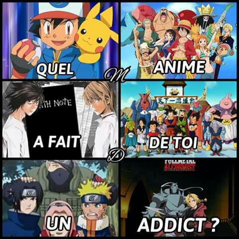 Quel Anime A Fait De Toi Un Addict ?