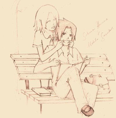 Image Sasuke et Sakura. ♥