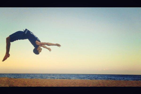 #back flip