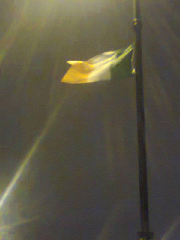 Le drapeau irlandais m'a toujours fait penser à un drapeau italien malade, non?