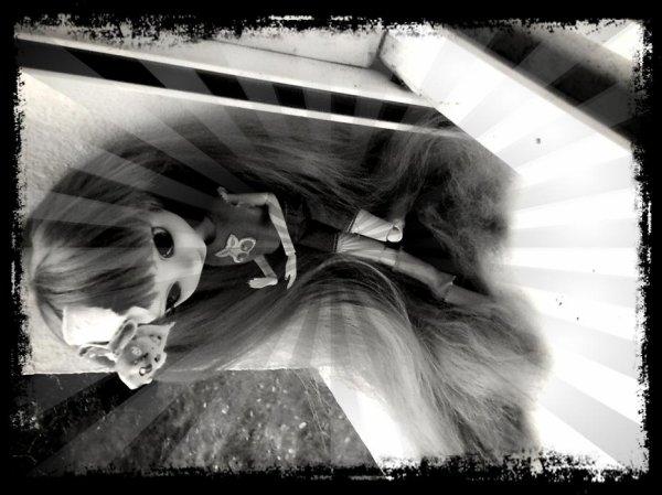 Séance photo avec Cerise!! Part1