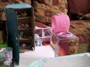Petits changements dans ma dollhouse <3...