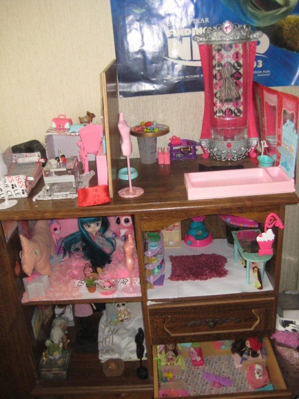 présentation de la new doll house de mes puces!!!