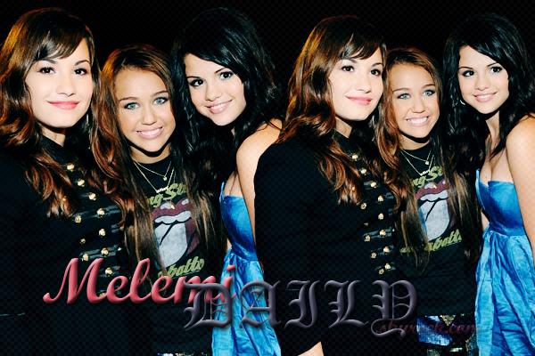 . . www.MelemiDAILY.skyrock.com Ta nouvelle source sur les belles Miss Cyrus, Lovato & Gomez ! . .