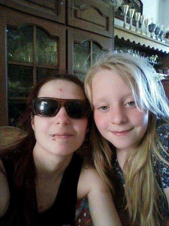 Ma soeur Chloé et moi