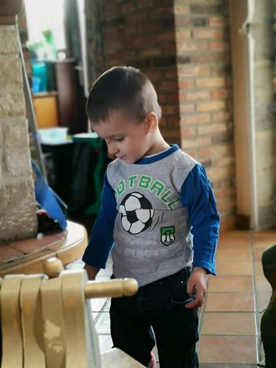 Mon fils ezzio et sa marraine