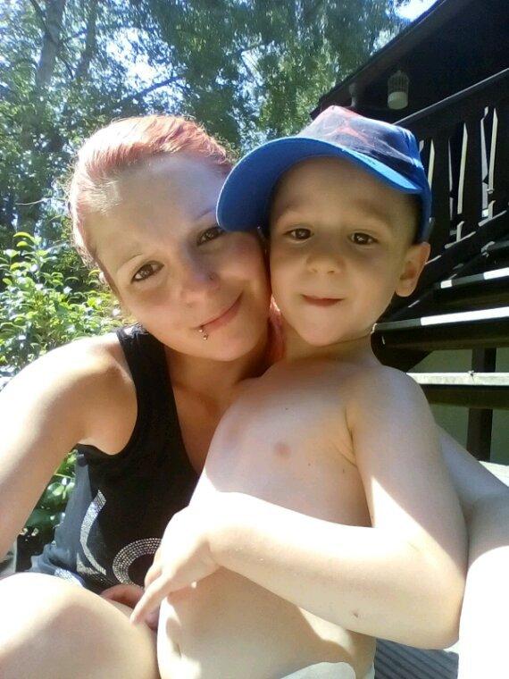 Mon fils et maman chez mamy la maman de mon copain
