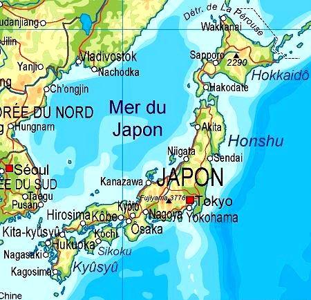 -------------------- . 日本 . ----------------------------- Préseηtαtion du pαys du soleil levαηt ➠ • Geographie •