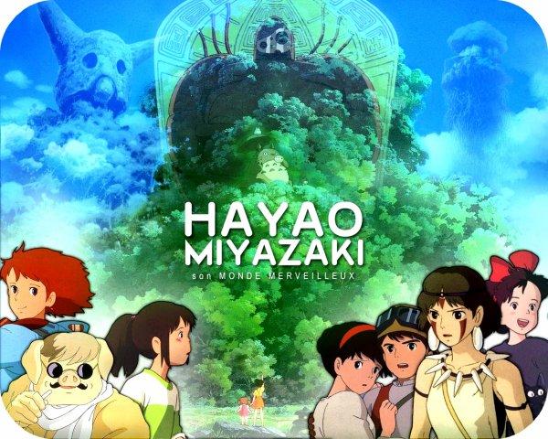-------------------- . 日本 . ------------------------------------------------------------------------ Animations ➠ • Hayao Miyazaki •