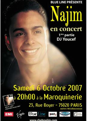 ----------------------------L'affiche du concert à la Maroquinerie (Paris) 2007 !!!---------------------------- Facebook Officiel - Mes Vidéos - Twitter Officiel - Myspace Officiel