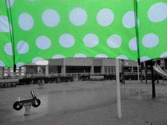 ... Sous la pluie, la nostalgie...