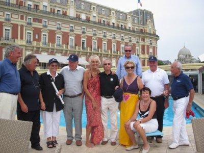 HOTEL DU PALAIS LE LUNDI 6 SEPTEMBRE 2010 DEJEUNER GOLFIQUE ET PISCINE