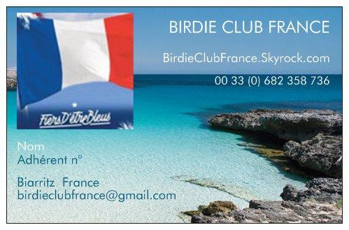 2017 Naissance du Birdie Club France