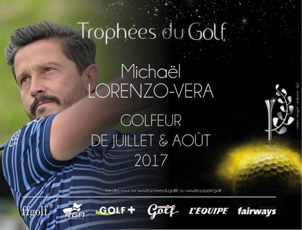 Un golfeur Biarrot  élu meilleur joueur Français
