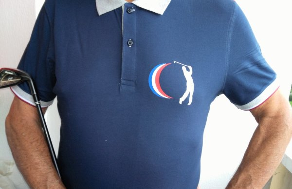 Polo Birdie Club France disponible