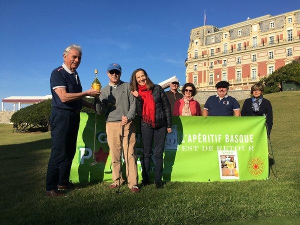 Samedi 18 Novembre 2017    Hotel du Palais Biarritz  José Maria Ellacuria Vainqueur