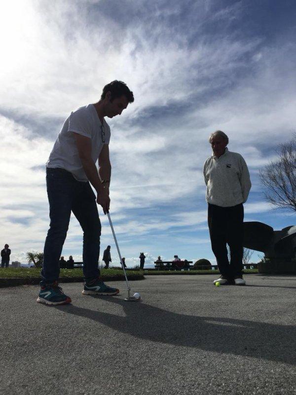 Dimanche 04 Mars 2018   Karaté et Golf  au pied du Phare de Biarritz