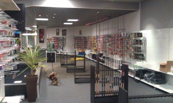 nouveau magasin de pêche sur autun MORVAN PËCHE