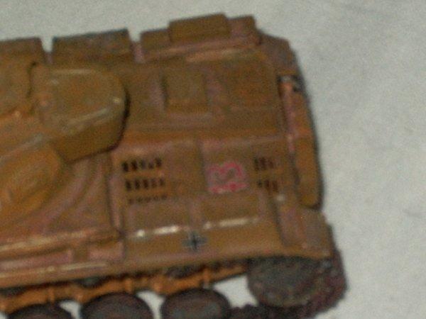 Petit char de l'ancien dio de Normandie: