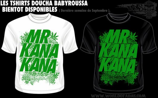"NOUVEAU T-SHIRT ... "" MR KANA KANA """