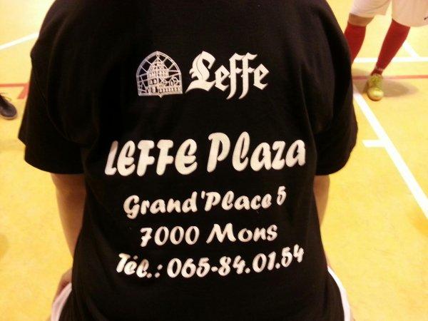 """Notre nouveau sponsor .....le """" Leffe Plaza"""""""