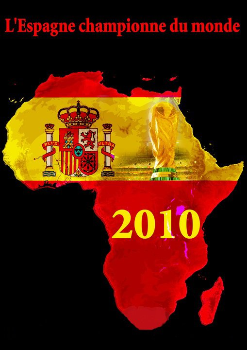 España championne du monde 2010 !