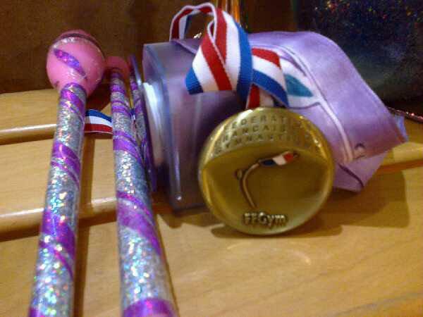 Et Une autre Médaille de Bronze pour les Etoiles !!!
