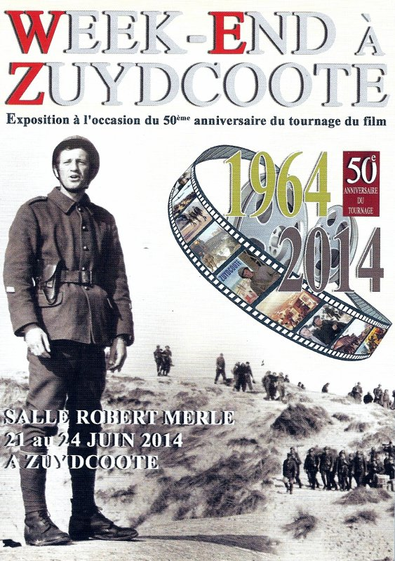 exposition 50 ans du film Week-End àZuydcoote