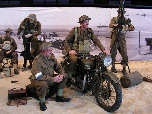 exposition 75 ans de l'opération Dynamo à bray-dunes mai 2015