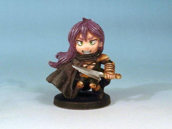 Scarlet de la boite de jeu Arcadia Quest