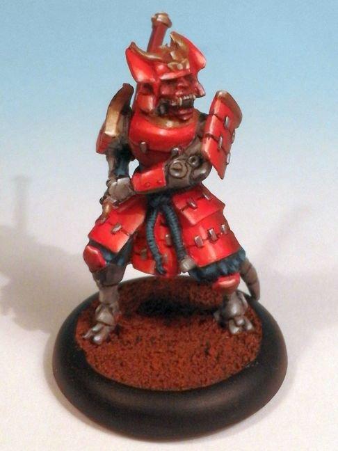 Carmin Samurai de le boite de jeu Eden