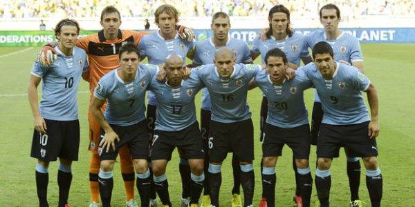 BRESIL  2014  -  NATIONS  &  NOYAUX  -  URUGUAY