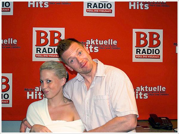 28.06.11 - Radio Berlin 88 8, Berlin Promotrip.
