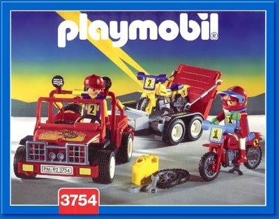 Playmobil 3754 ma collection de playmobil - Moto cross playmobil ...