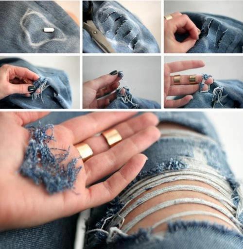 Que faire de nos vieux jean ?