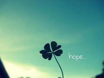 Un brin d'espoir