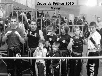 A Gagnée sont combat à la coupe de France à Melun 2010