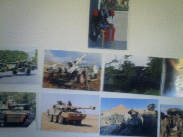 petite expo photo dans les quartiers du 1er RAMA