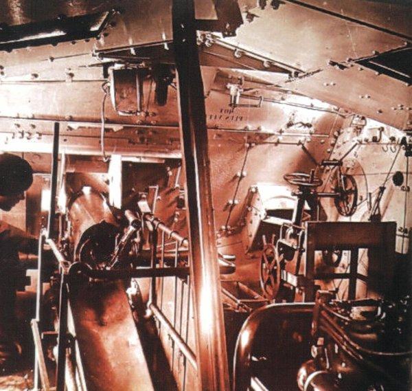 photo de l'intérieur d'un saint chamont
